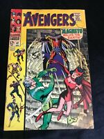 THE AVENGERS #47 COMIC BOOK (MARVEL,1967) 1ST APP OF DANE WHITMAN  +