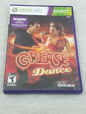X Box 360 Kinect Grease Dance Video Game  rated T Dancing Music