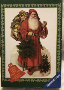 Ravensburger FATHER CHRISTMAS 500 Piece Limited Edition SHAPED Puzzle FUN