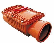 Rückstauverschluss DN 125 Rückstauklappe / Rattenschutz für Kg Rohr
