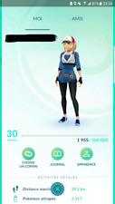 Pokémon Go Compte - Account Niveau / level 30 + 200 000 stardust !!