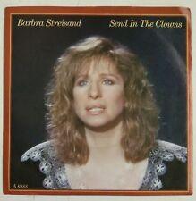 """Barbra Streisand Send In The Clowns Single 7"""" UK 1985"""