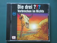 Die drei ??? Fragezeichen - Folge 191 - Verbrechen im Nichts - Hörspiel-CD