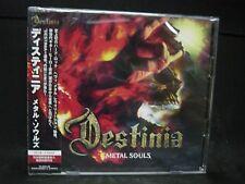 DESTINIA Metal Souls + 1 JAPAN CD + DVD Nozomu Wakai Lords Of Black Galneryus