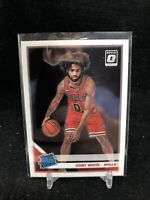 2019-20 Panini Donruss Optic Coby White RC Bulls Rated Rookie #180 Rookie L53