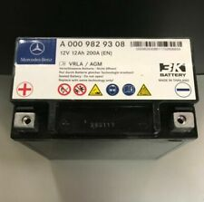 Mercedes Benz Genuine Auxiliary Battery 0009829608 0009829308