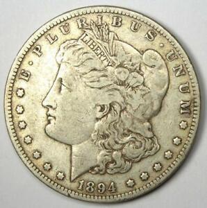 1894-P Morgan Silver Dollar $1 Coin (1894-P) - Choice VF - Rare Key Date!
