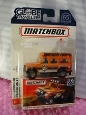 2018 MATCHBOX Globe Travelers LAND ROVER DEFENDER 110☆orange☆65th Anniversary