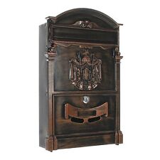 Rottner T05667 Letter Box with Fixing Kit - Antique