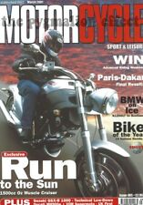 MSL March 2001 - Hunwick Harrop Phantom 1500 Ducati M900e VOR SM 503 BMW K1200LT