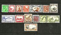 New Zealand 1935 Pictorials, Total 14 Stamps Set, U
