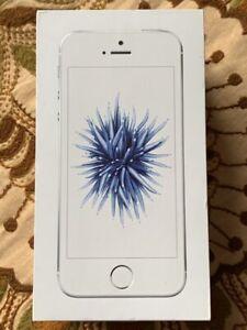 Apple iPhone SE 128gb Smartphone-silber (Entsperrt) - bitte siehe Beschreibung