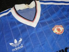 Vintage adidas Manchester United 1982 83 84 Third Shirt Incredibly Rare - Mens