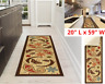 Carpet Runner Rug Modern kitchen Hall Area Rugs Long Rubber non-slip Backing