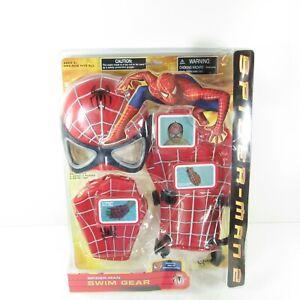 Marvel Spider-Man Spider-Man 2 Swim Gear 5 Piece Set 2004 Toy Quest