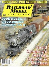 Railroad Model Craftsman May 2000 Sierra Carson & Truckee PRR E7 CPR C630M Cisco