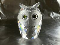 Woodland Friends Swarovski cristal original Owl 70x50x50mm