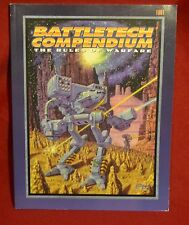 Battletech Compendium The Rules of Warfare Exccellent