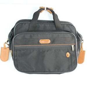 """Brookfield by Hartmann 16"""" Carry On Tote Bag Laptop Briefcase Canvas Travel"""