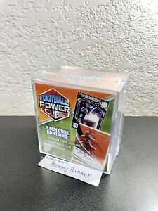 2021 NFL MJ Holding Football Power Cube NEW SEALED - 1 Auto OR Game Used Card!