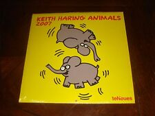 "KEITH HARING ""ANIMALS"" 2007 Calendar - teNeues Made in Germany BRAND NEW SEALED"
