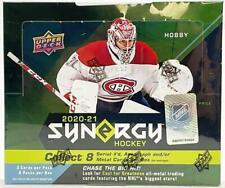 2020-21 Upper Deck Synergy хоккейные хобби коробка