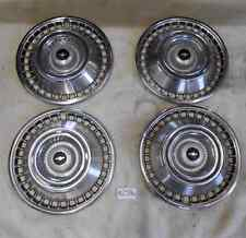 1965 Chevy 2 Hubcaps 14  Inch - Set of 4
