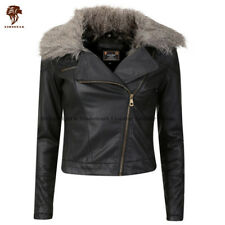 Lionstar Royal Top Quality Winter Extra Warm Real Leather Ladies Jacket with Fur