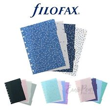 Filofax A5 Notebook Dividers - Confetti Expressions Garden Indigo