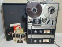 AKAI (Roberts) M8 Tube Reel to Reel Tape Recorder Working With Tapes , Extras.