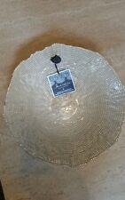 Artistic Accents Handmade Glass Bowl w/Genuine Silver Centerpiece Mde in Turkey