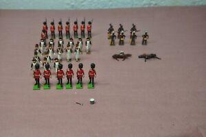 Vintage Britains- France-Japan Lead Soldiers HN4