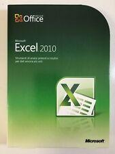 Microsoft EXCEL 2010 32/64 Bit Italian DVD Retail Box 065-06971