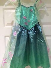 DISNEY PARK World Land Frozen Princess ELSA CORONATION Fancy Dress COSTUME 10/12