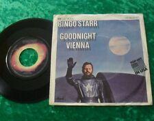 """Single 7"""" Ringo Starr-Goodnight Vienna (Beatles)"""