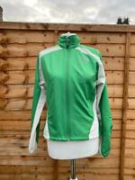 The North Face Green Jacket Size Small S 8 10 Zip Up Hyvent Coat