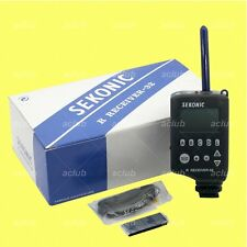 Sekonic RR-32 Digital Radio Receiver 32-Channel for Pocket Wizard Transceivers