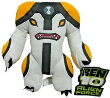 """Ben 10 Alien Force CANNONBOLT Plush 11""""  NEW WITH TAGS 2010"""