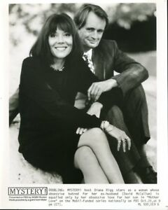 "Diana Rigg David McCallum Mother Love Mystery Original 8x10"" Photo #M7980"