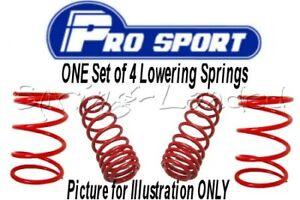 ProSport Lowering Springs for ROVER 25, 1.4/1.6/2.0, RF, 1999-05 :120487