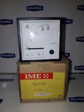 Ampermeter IME RQ72E 0-25A 70x70mm