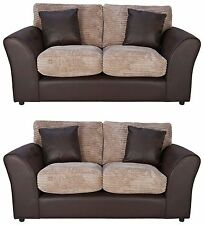 Unbranded Fabric Two Seater Sofa Furniture Suites