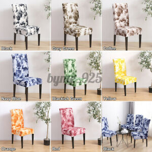 Dinning Chair Covers Room Elastic Wedding Banquet Seat Cover Slipcovers Home