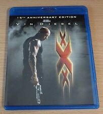 XXX NEW Bluray disc/case/cover only-no digital 201715th anniversary edition Vin