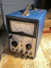 Hickok Electrical Instruments Co 1605M Voltmeter VOM #96 AC Analog USED WORKS GC