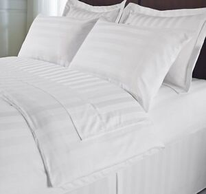 Hotel Collection Stripe 100% Poly Mircro 5pc Reversible Duvet Cover Set-All Size