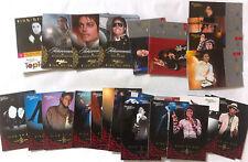 Lot de 39 Cartes Cards GOLD Collection Américaine Panini 2011 - Michael Jackson