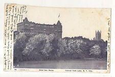 Hotel San Remo, Central Park Lake NEW YORK CITY NY Vintage 1904 UDB Postcard