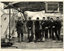 SIR GEORGE NARES ABOARD HMS ALERT ARCTIC EXPEDITION Lime Juice Scurvy Dog 1875