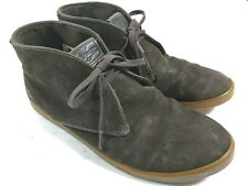 LACOSTE Arona SRM Desert Men's Brown Suede Leather Chukka Ankle Boot Shoes Sz 10